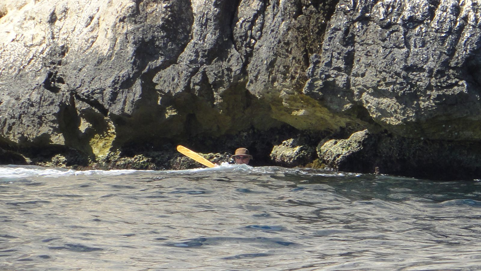 Rando kayak Calanques 2012 Jour 1 : Cassis - Sormiou