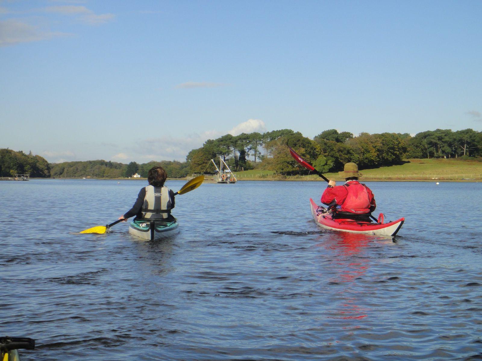 Rando kayak Saint-Cado Nostang - 6 novembre 2012