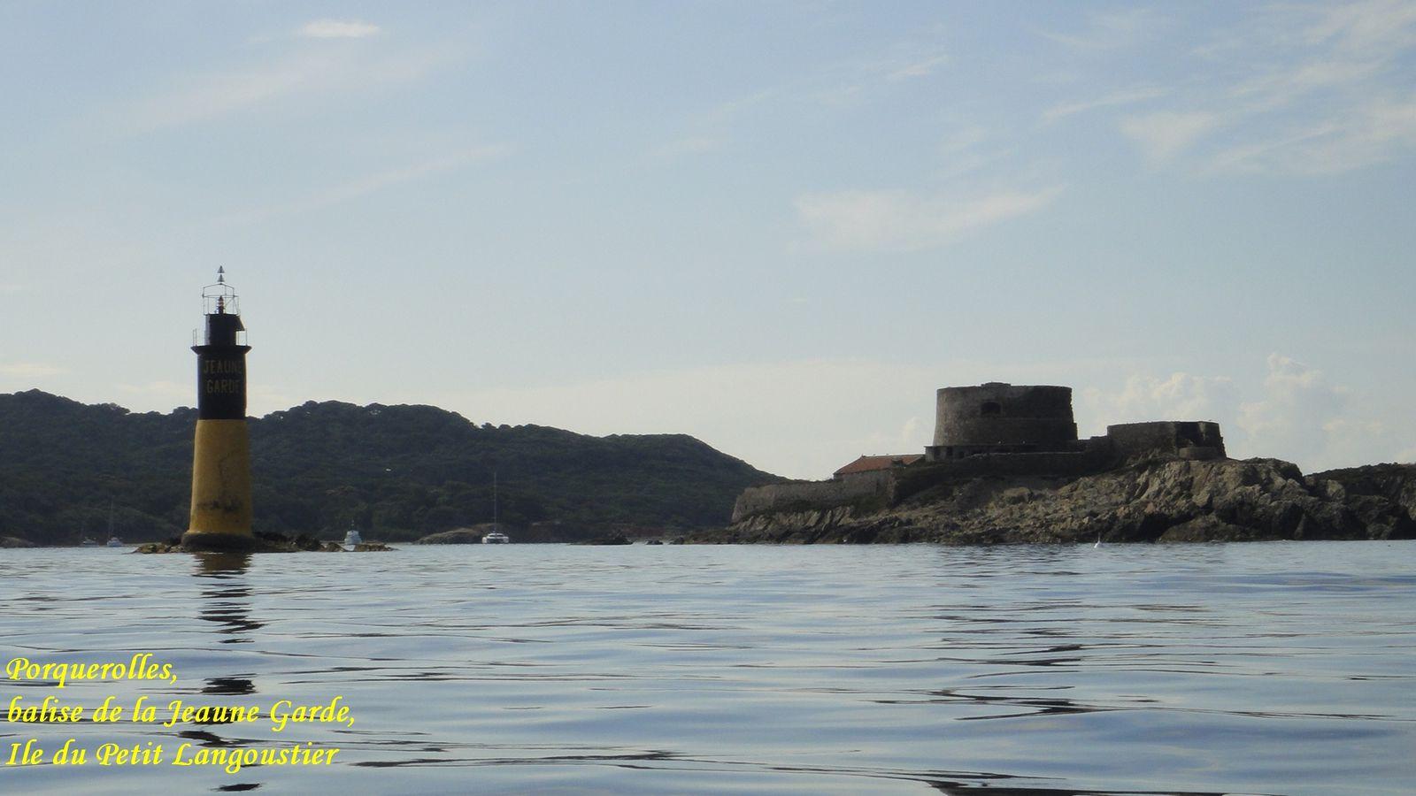 Rando kayak Giens - Porquerolles - Port Cros - Embiez  -  Juin 2011