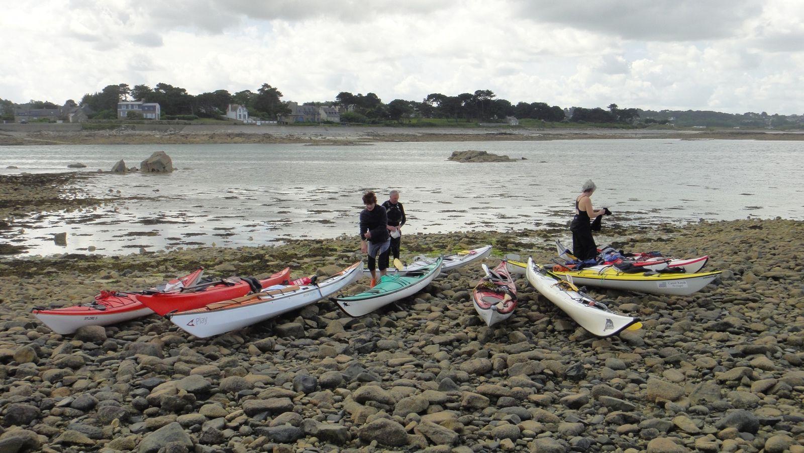 Rando kayak de Port l'Epine à l'anse de Gouermel  - 30 juin 2012