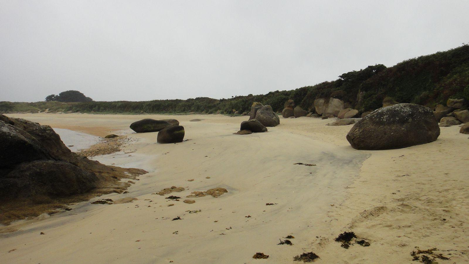 Rando kayak Ile de Batz, Ile Callot