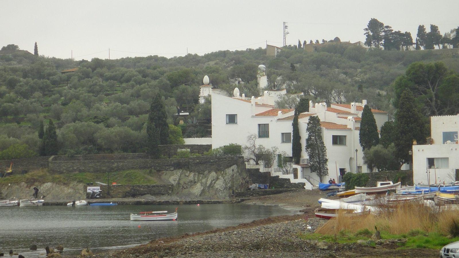 Maison de Dali, baie de Portlligat
