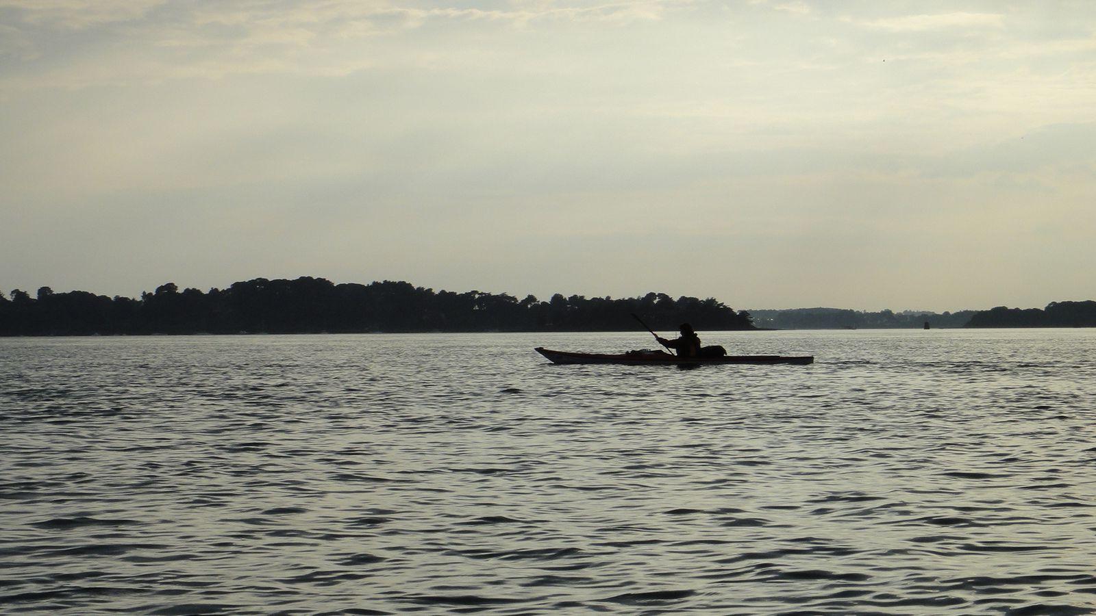 Rando kayak Golfe du Morbihan