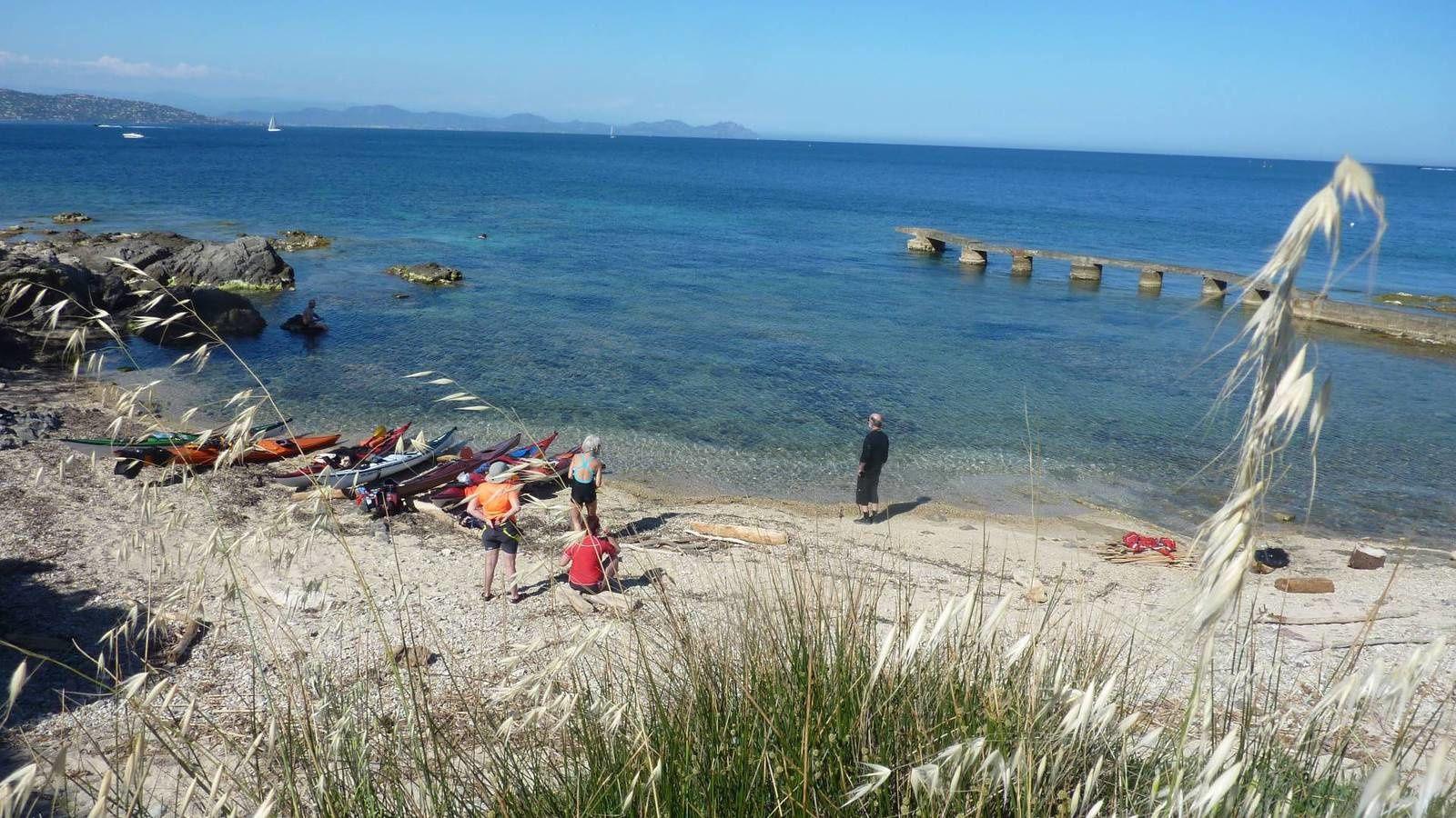 Méditerranée 2015 : Kayak à Saint-Tropez