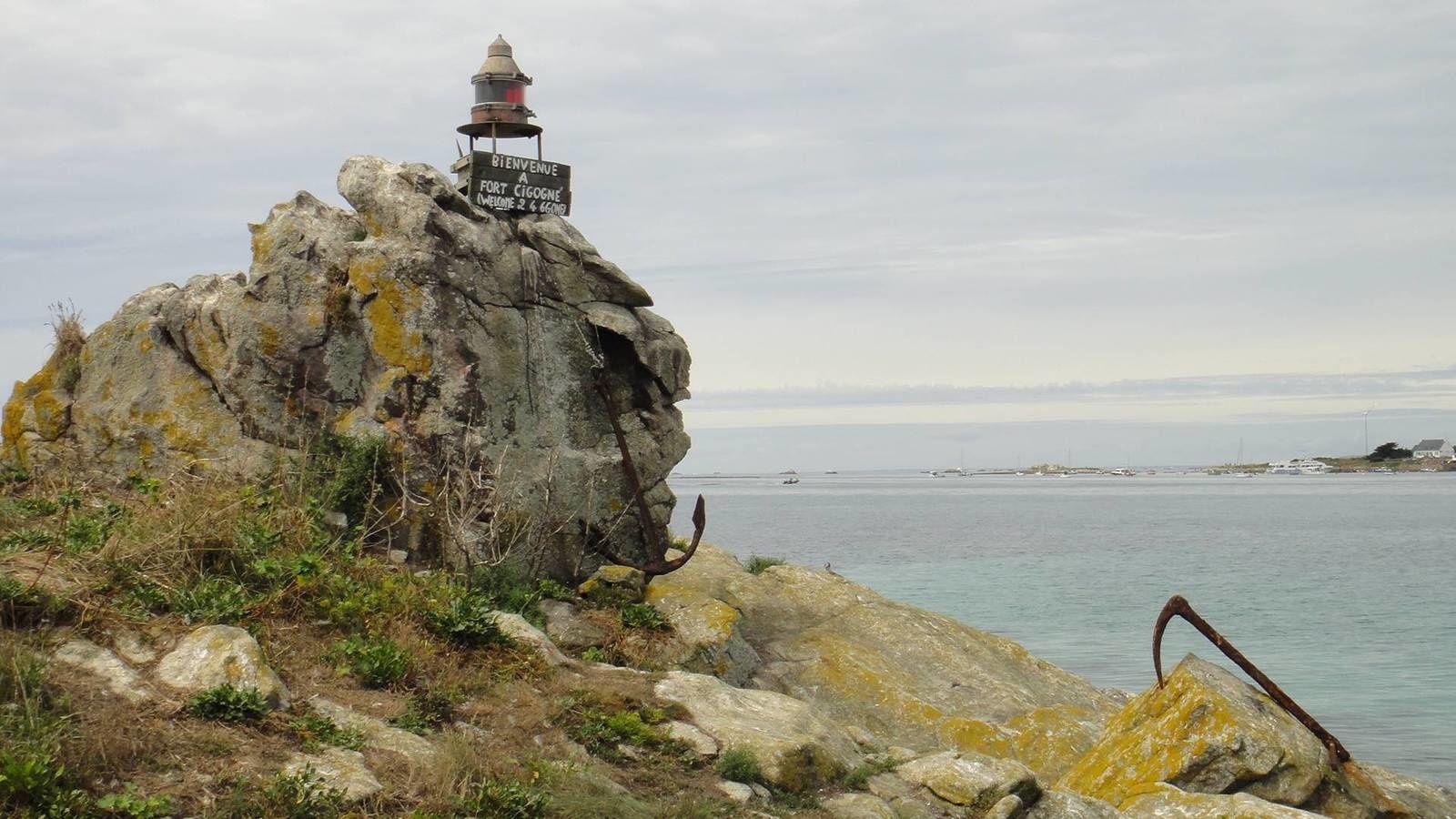Les Glénan : Brunec et Fort Cigogne