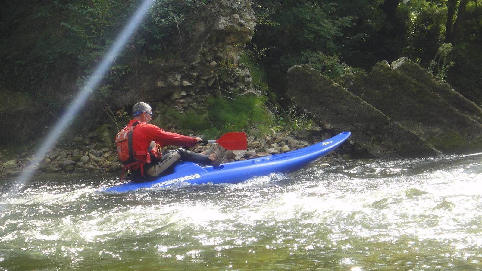 Asturies 2015 : de Arriondas à Ribadesella, descente du Rio Sella