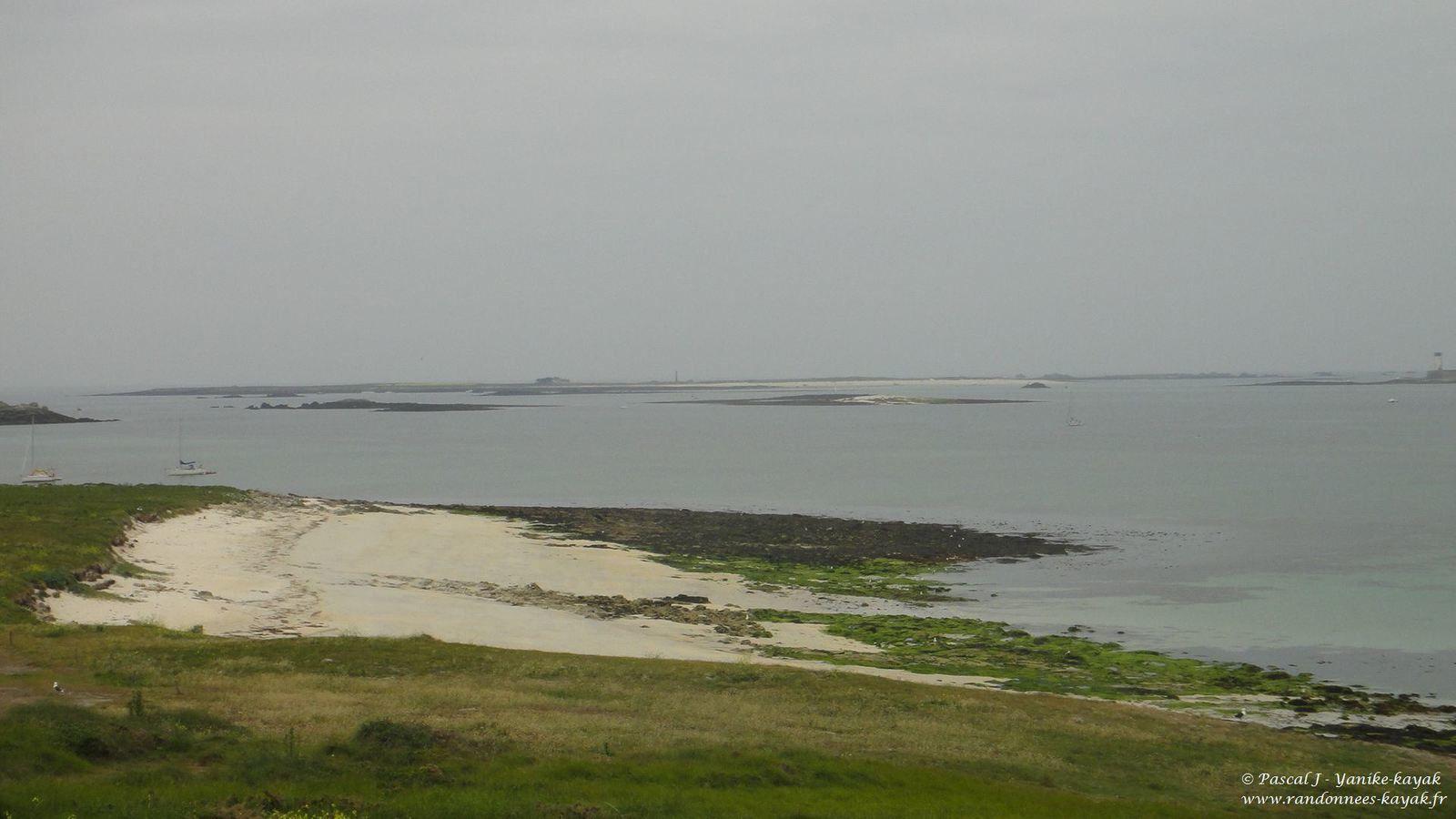 Archipel des Glenan : du haut de Fort Cigogne (2/2)