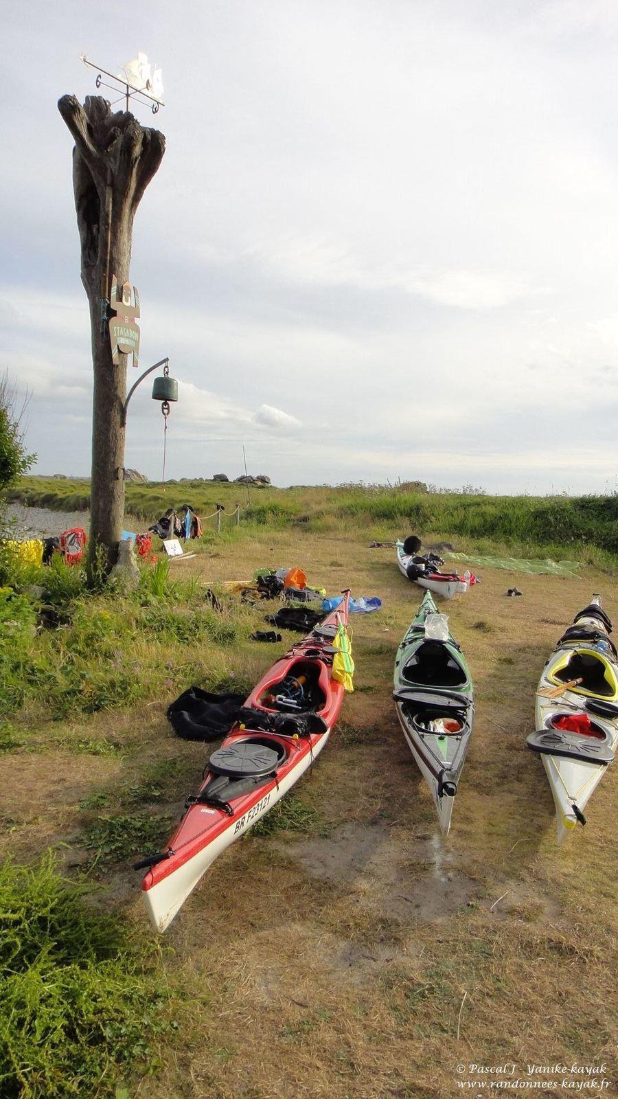 Tourduf en kayak de mer : de Sieck à Stagadon (2/9)