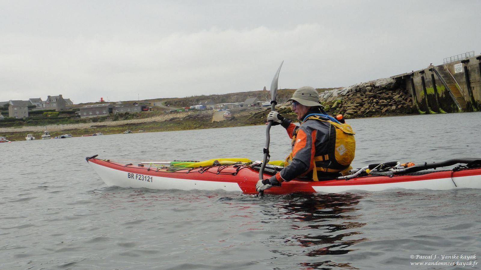 Tourduf en kayak de mer : de Stagadon à Molène (3/9)