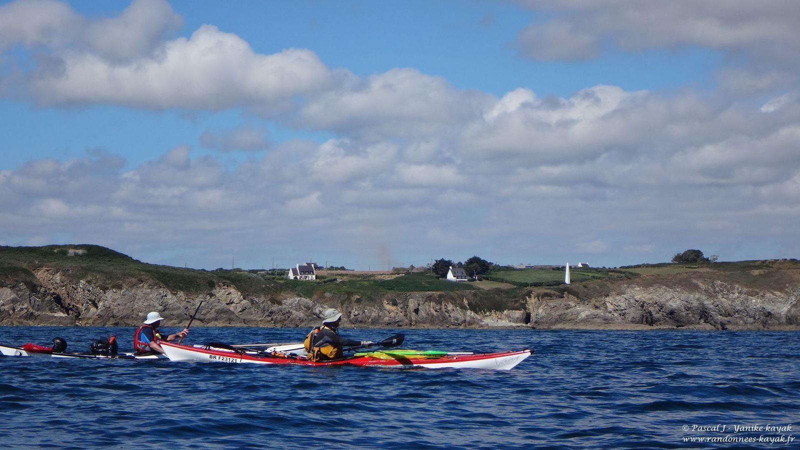 Tourduf en kayak de mer : de Molène à l'anse de Dinan (4/9)