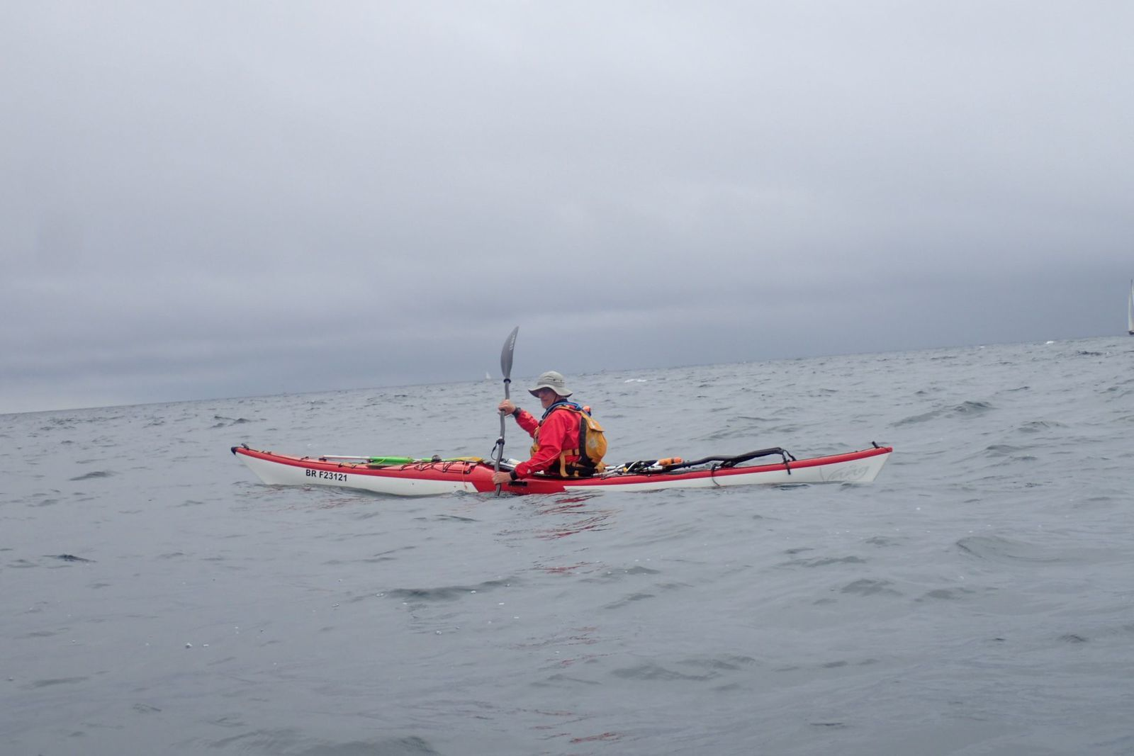 Tourduf en kayak de mer : des îles Glénan au Pouldu (9/9)