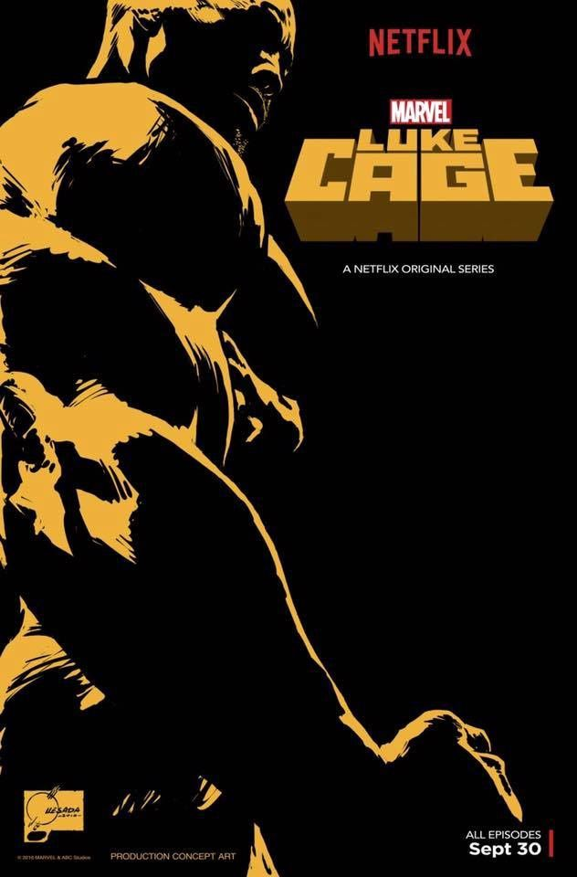 Poster pour Luke Cage !