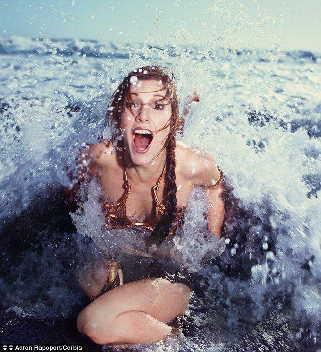Carrie Fisher nous a quitté, et l'univers est devenu moins beau...
