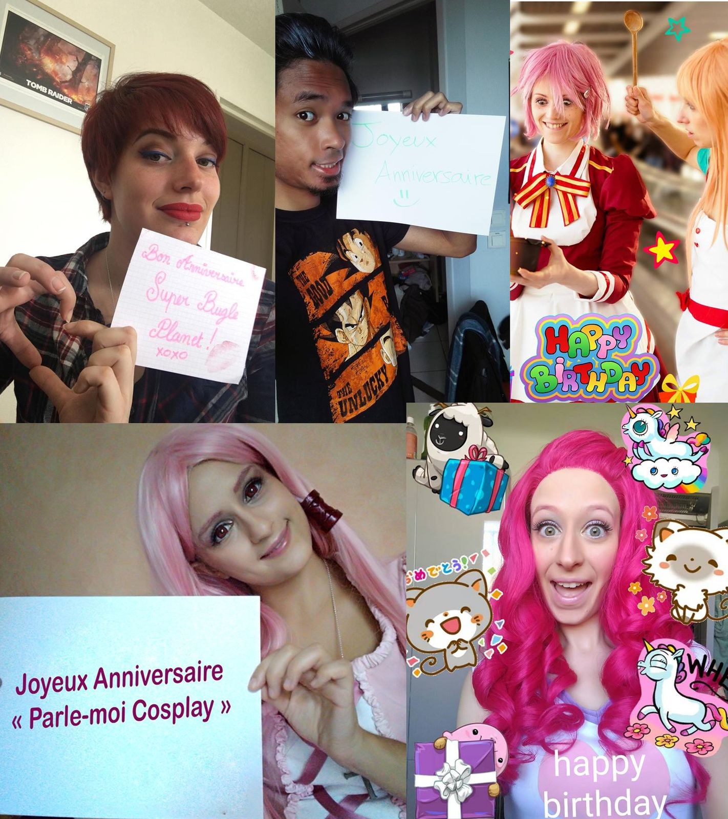 Parle-moi Cosplay #200 : Anniversaire !
