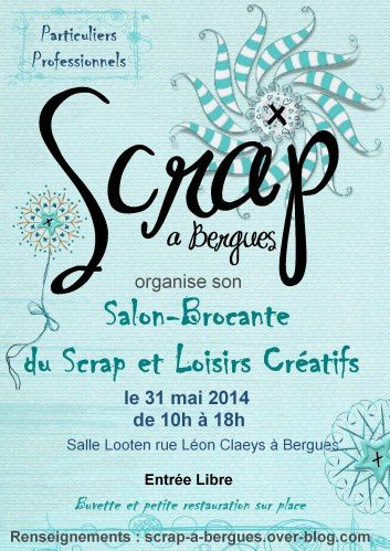 Salon du Scrapbooking à Bergues 31 mai