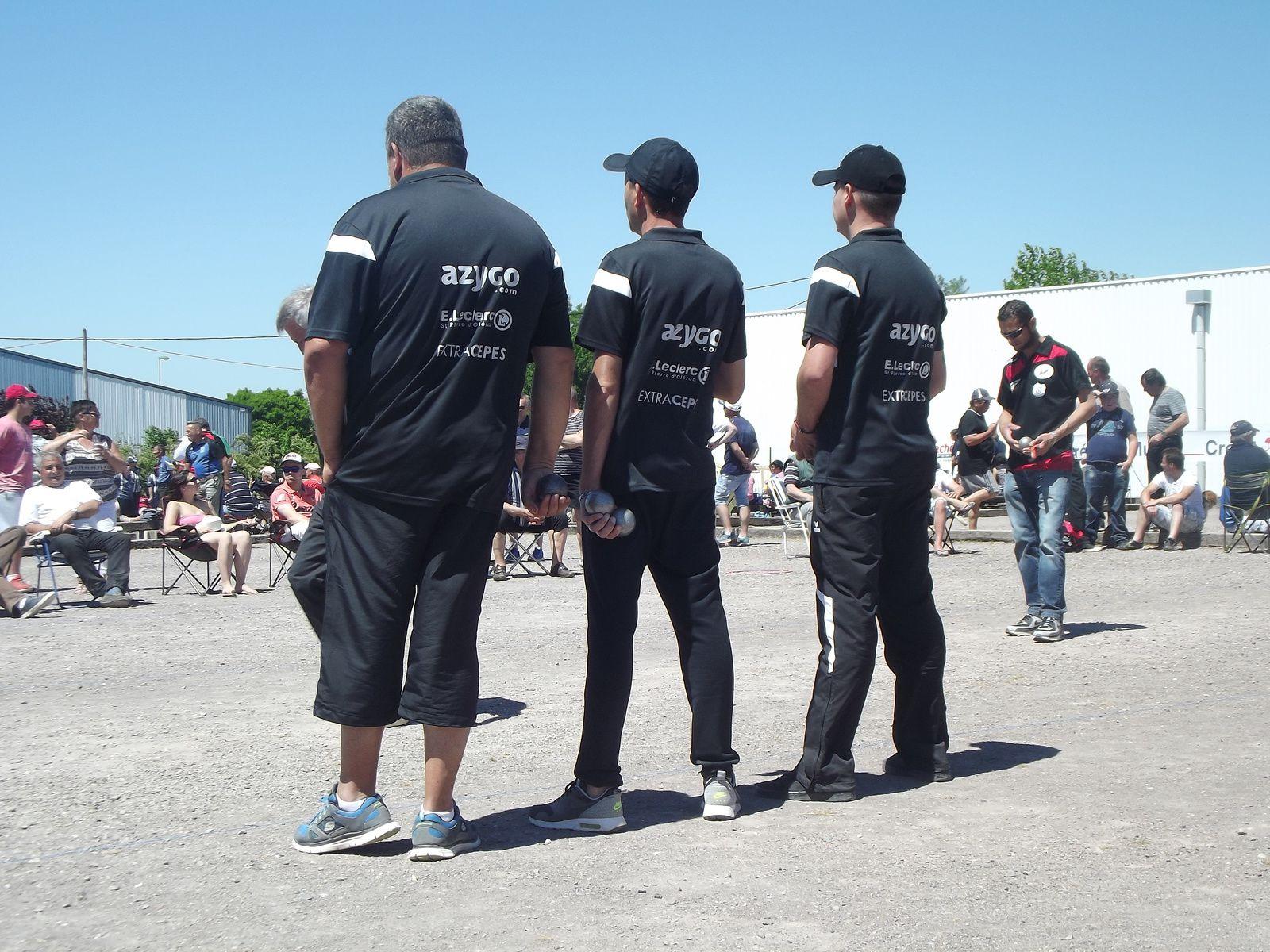Triplettes masculines du 25 mai 2017