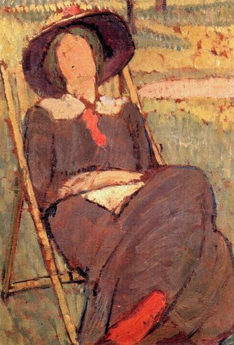 Virginia Woolf par Vanessa Bell
