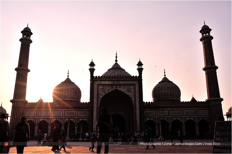 *PhotoGraphie © T.ZoHer - Jama Masjid / Old Delhi / Inde 2014 -