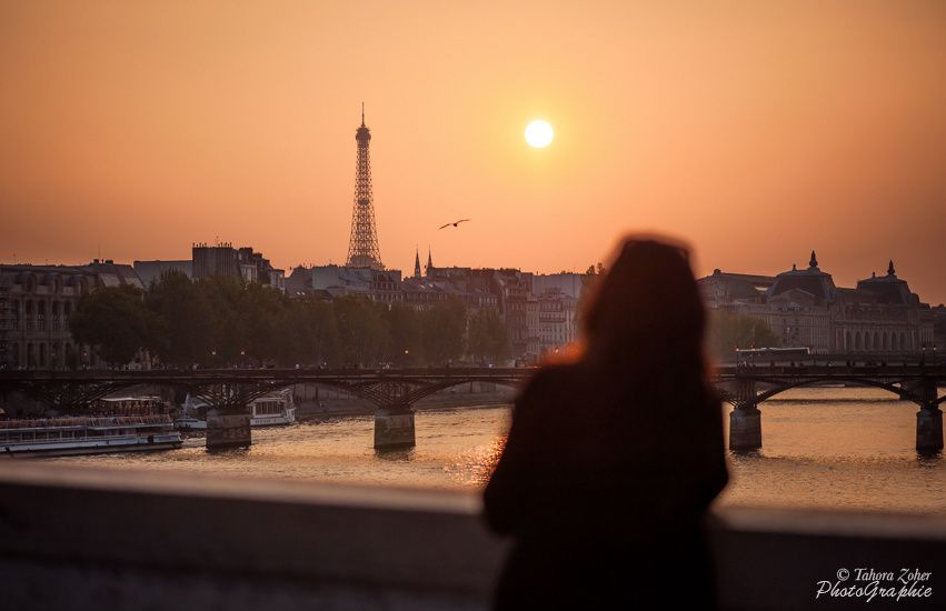 © T.Zoher Photographie - Paris, sur un Pont, Vison -