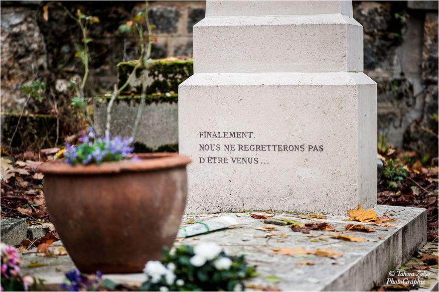© T.Zoher PhotoGraphie - Cimetière du Père La Chaise / 18 Novembre 2014 -