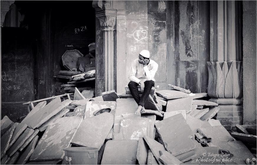 © T.Zoher PhotoGraphie - Jama Masjid / Delhi / Inde 2014 -