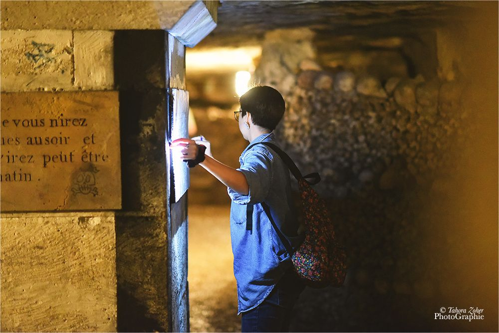 © T.Zoher PhotoGraphie - Catacombes de Paris 13 Juin 2015 -
