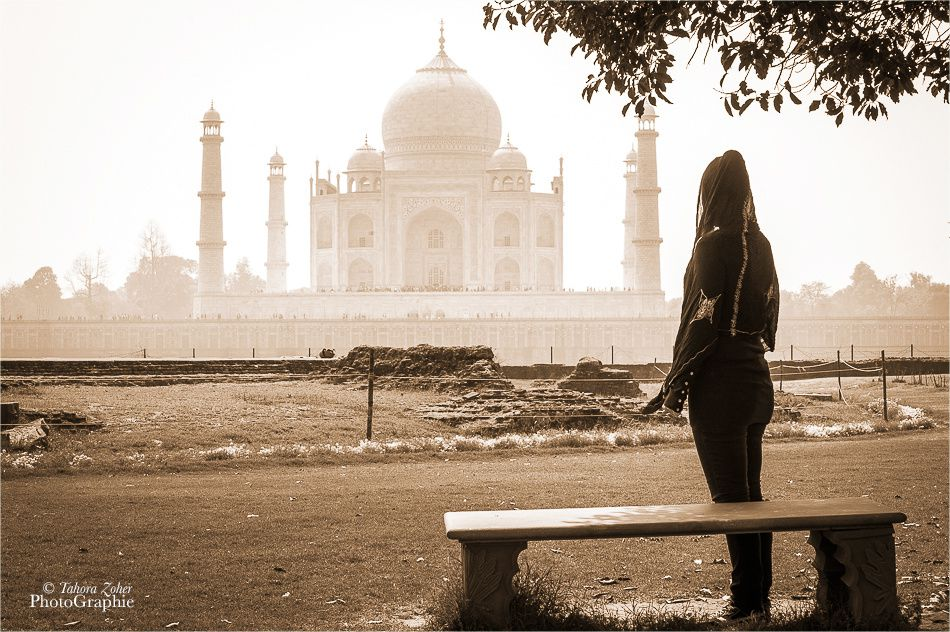 © T.Zoher PhotoGraphie - Mehtab Bagh Garden and The Taj Mahal ... 2014 -