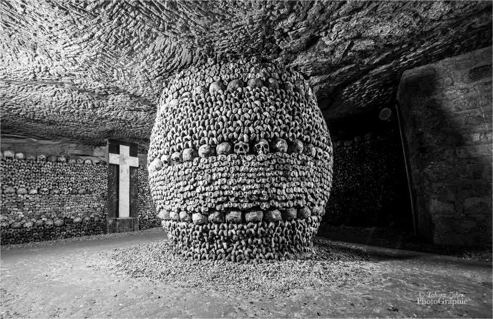 © Tahora Zoher PhotoGraphie - Catacombes de Paris -