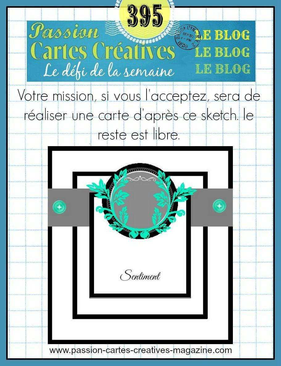 Défi 395 - Passion Cartes Créatives