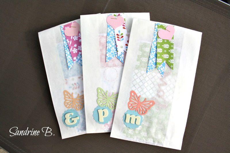 Pochettes cadeau et petits sacs