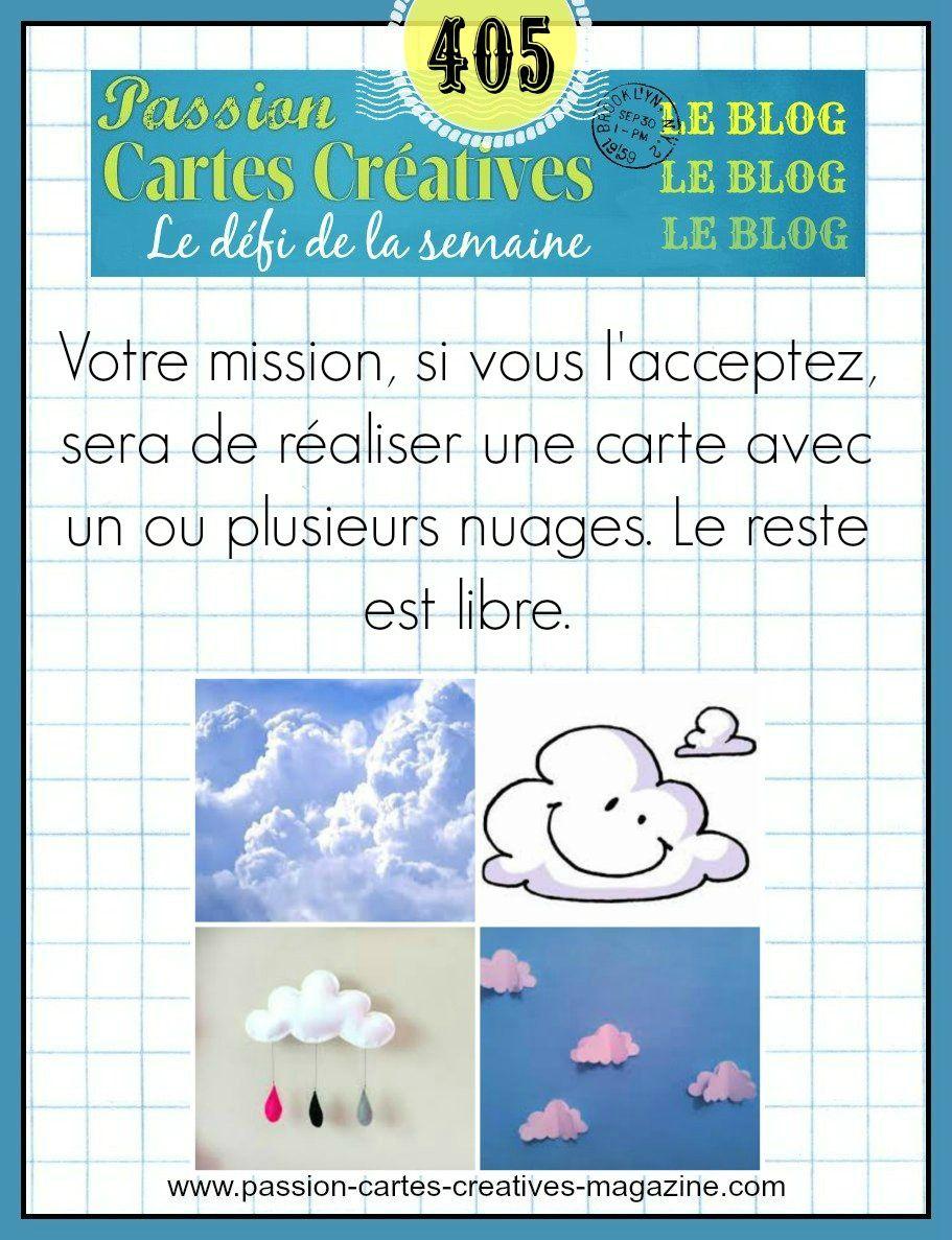 Défi 405 de Passion Cartes Créatives
