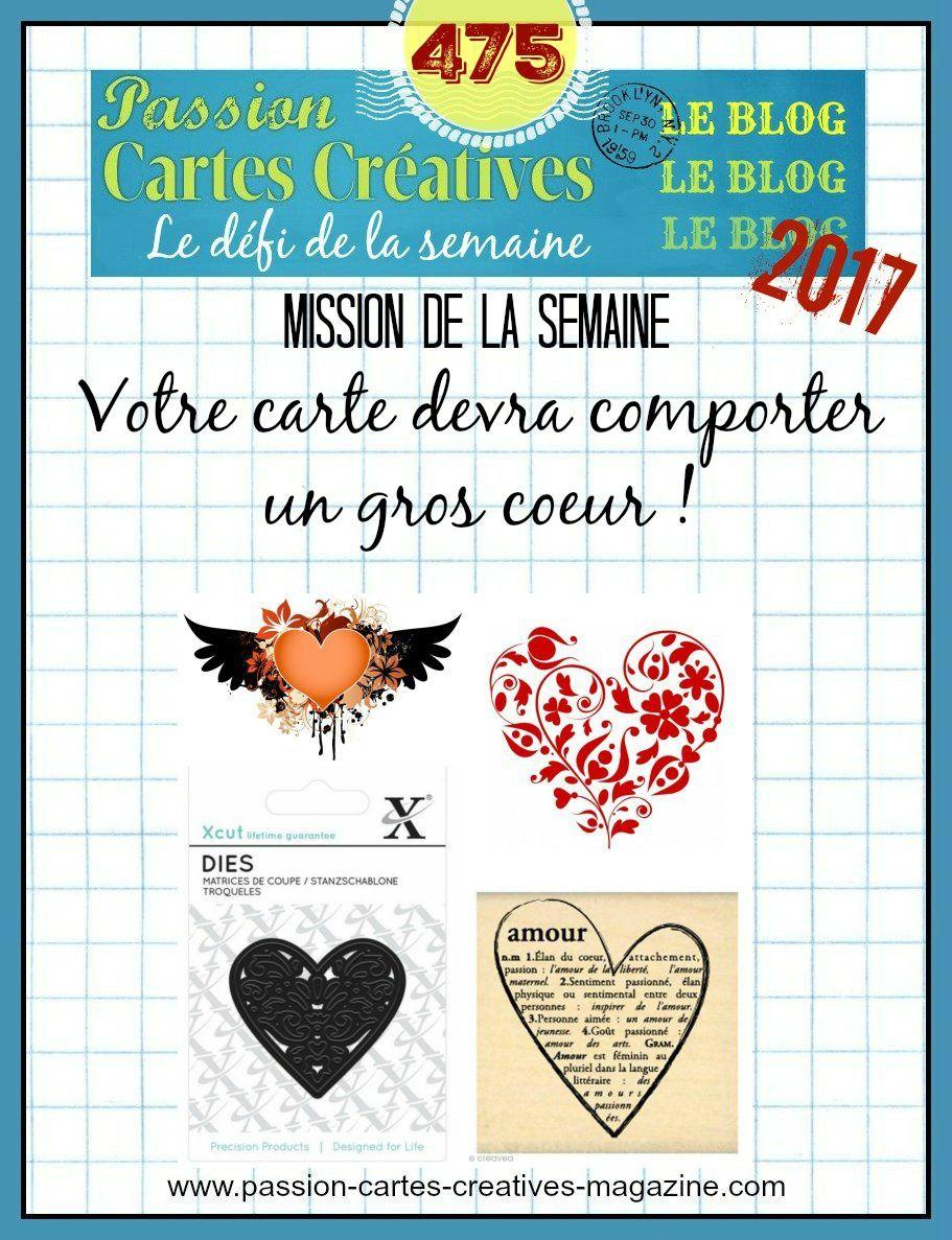 Défi 475 de Passion Cartes Créatives