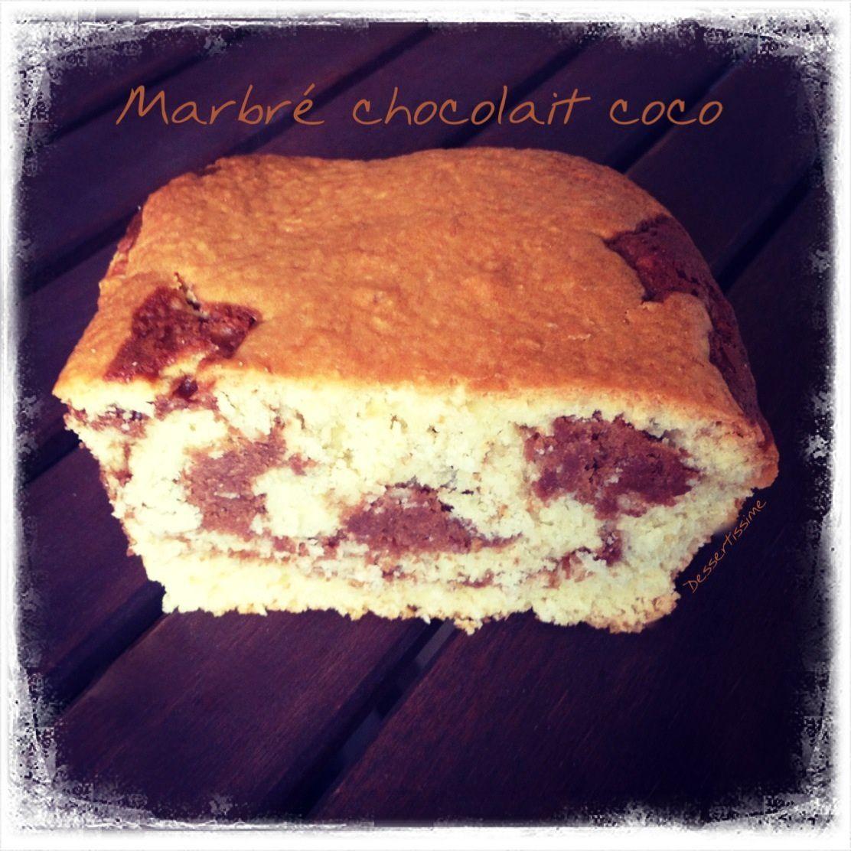 Marbré chocolait & coco