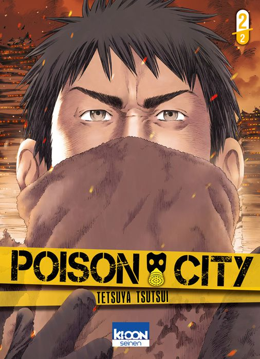Poison City Tome 2 : Manga down