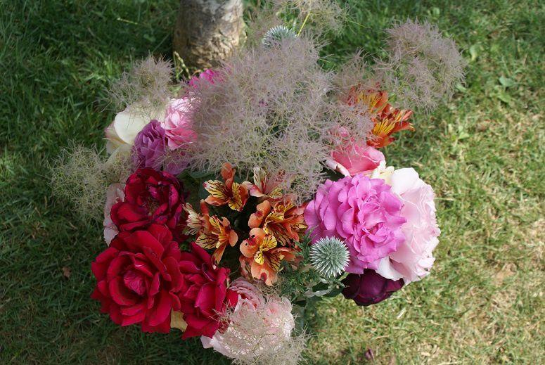 Bouquet Chardon bleu