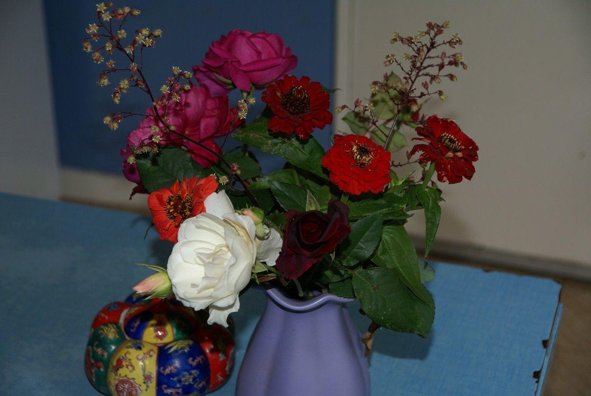 Bouquet Thé à la rose d'automne