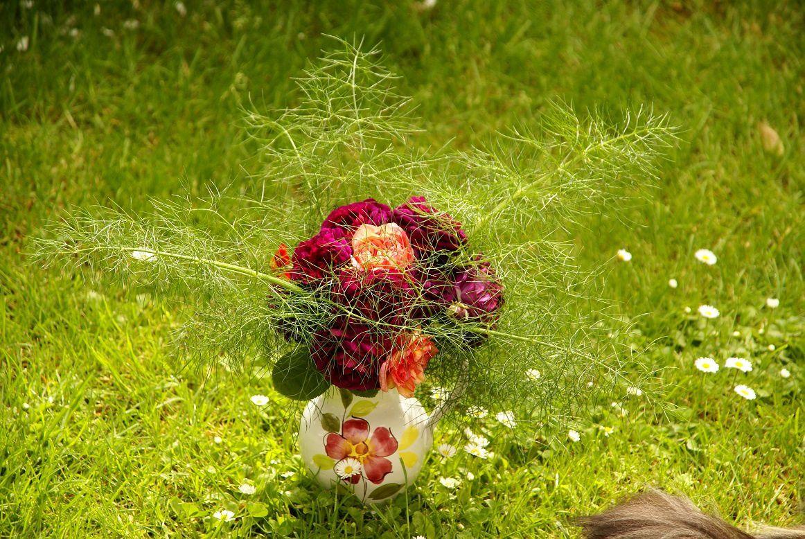 Bouquet Clementina et Gypsy