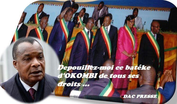 Aux députés godillots du Congo–Brazzaville, pourquoi soutenir un dictateur face à la révolte du peuple !