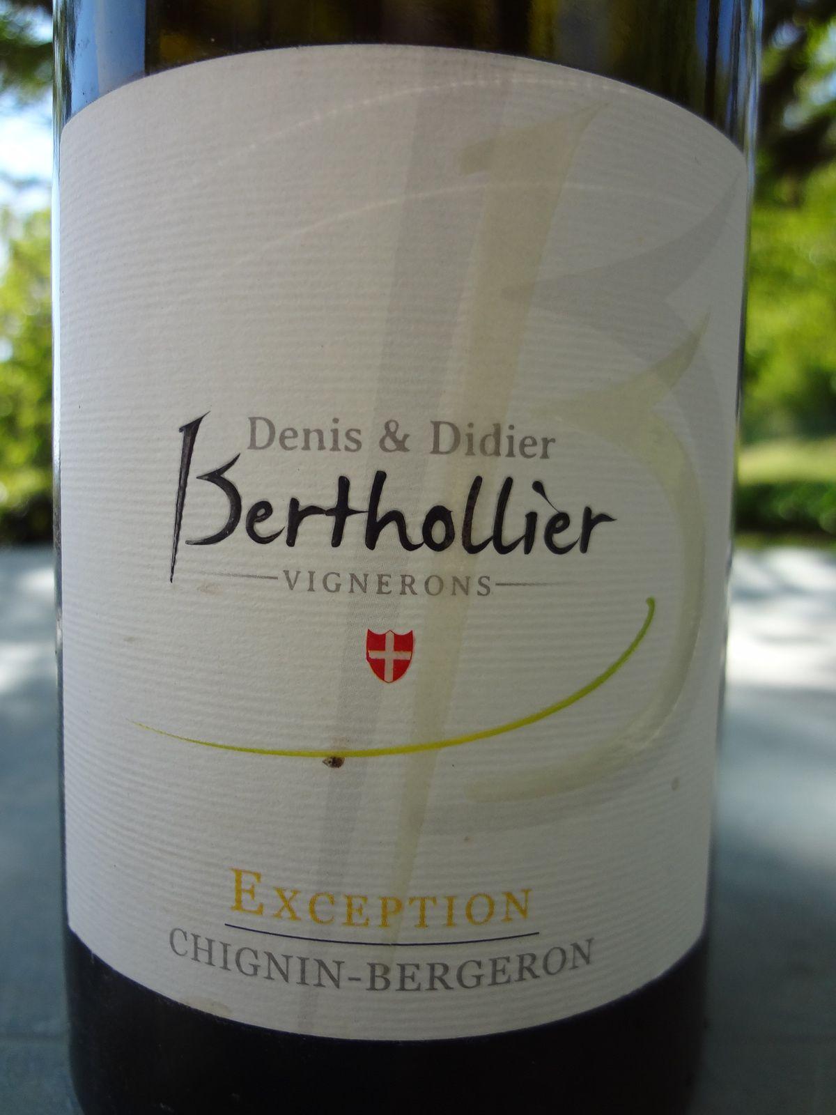 Vino Passion - Savoie Chignin Bergeron 2012