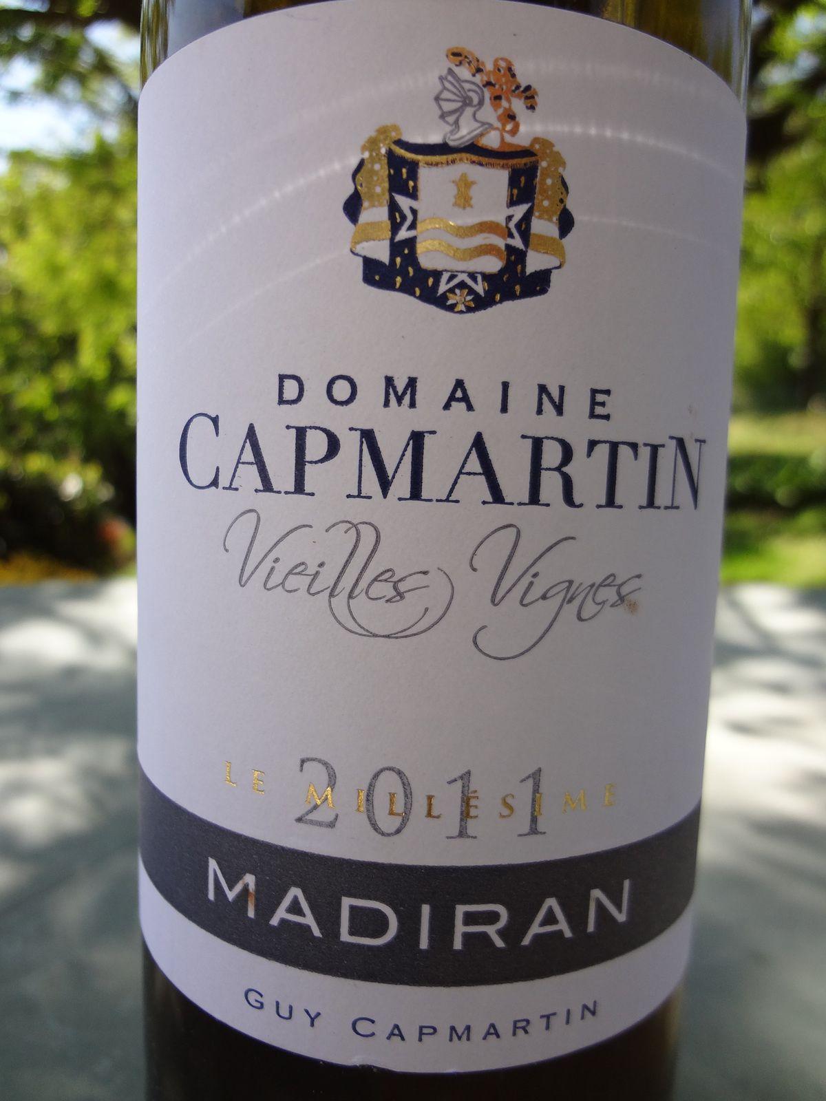 VINO PASSION Madiran 2011Domaine Capmartin.