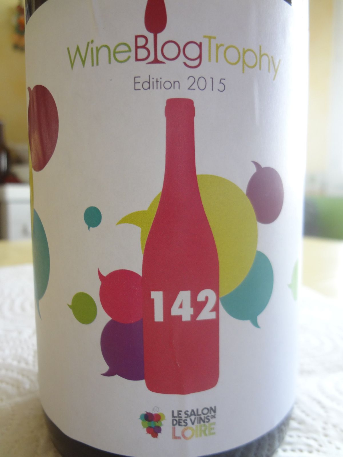 Wine Blog Trophy - Bouteille n° 142 - Luc Chatain - Vino Passion.