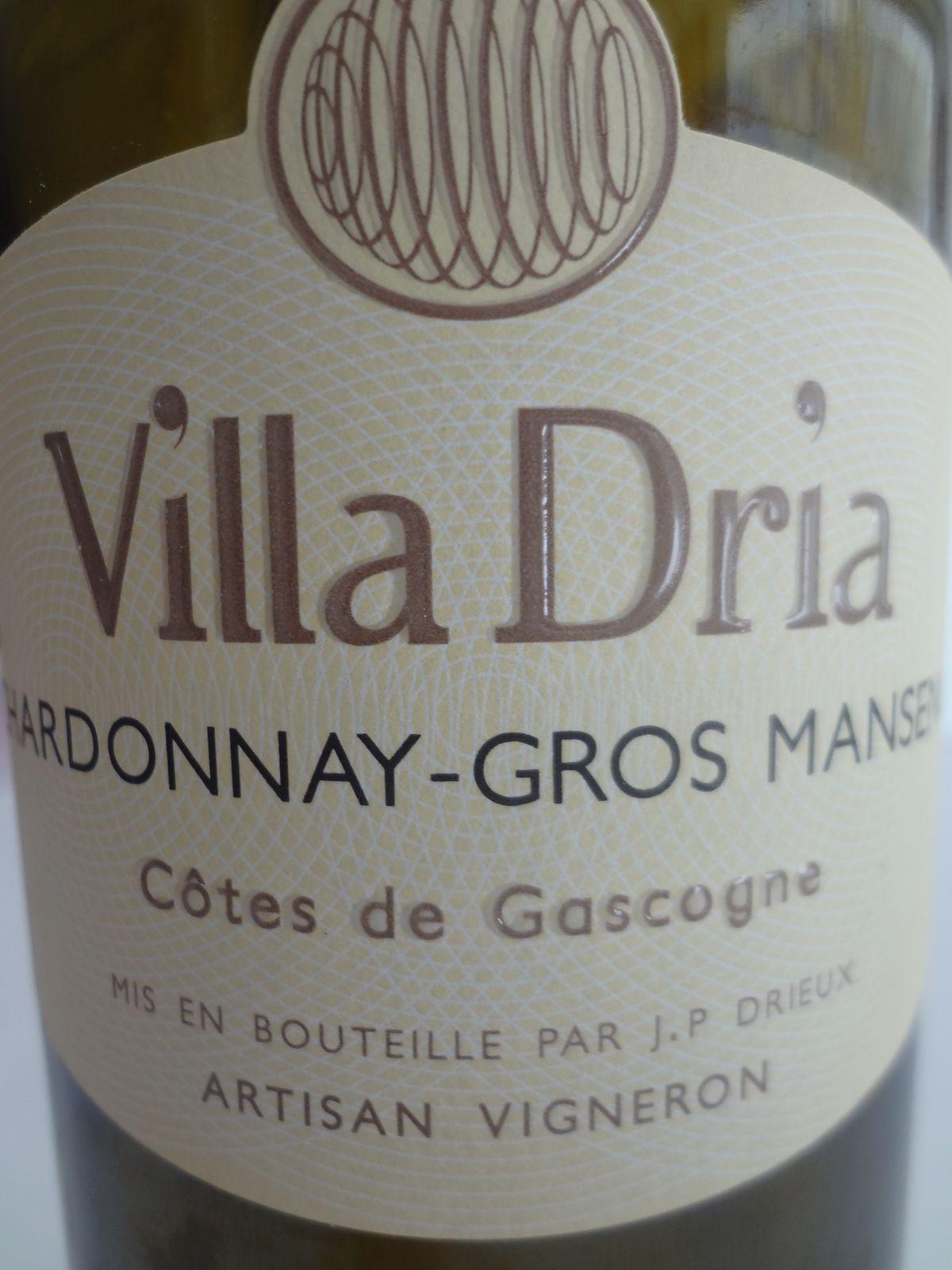 Vino Passion - IGP Côtes de Gascogne - Vila Dria