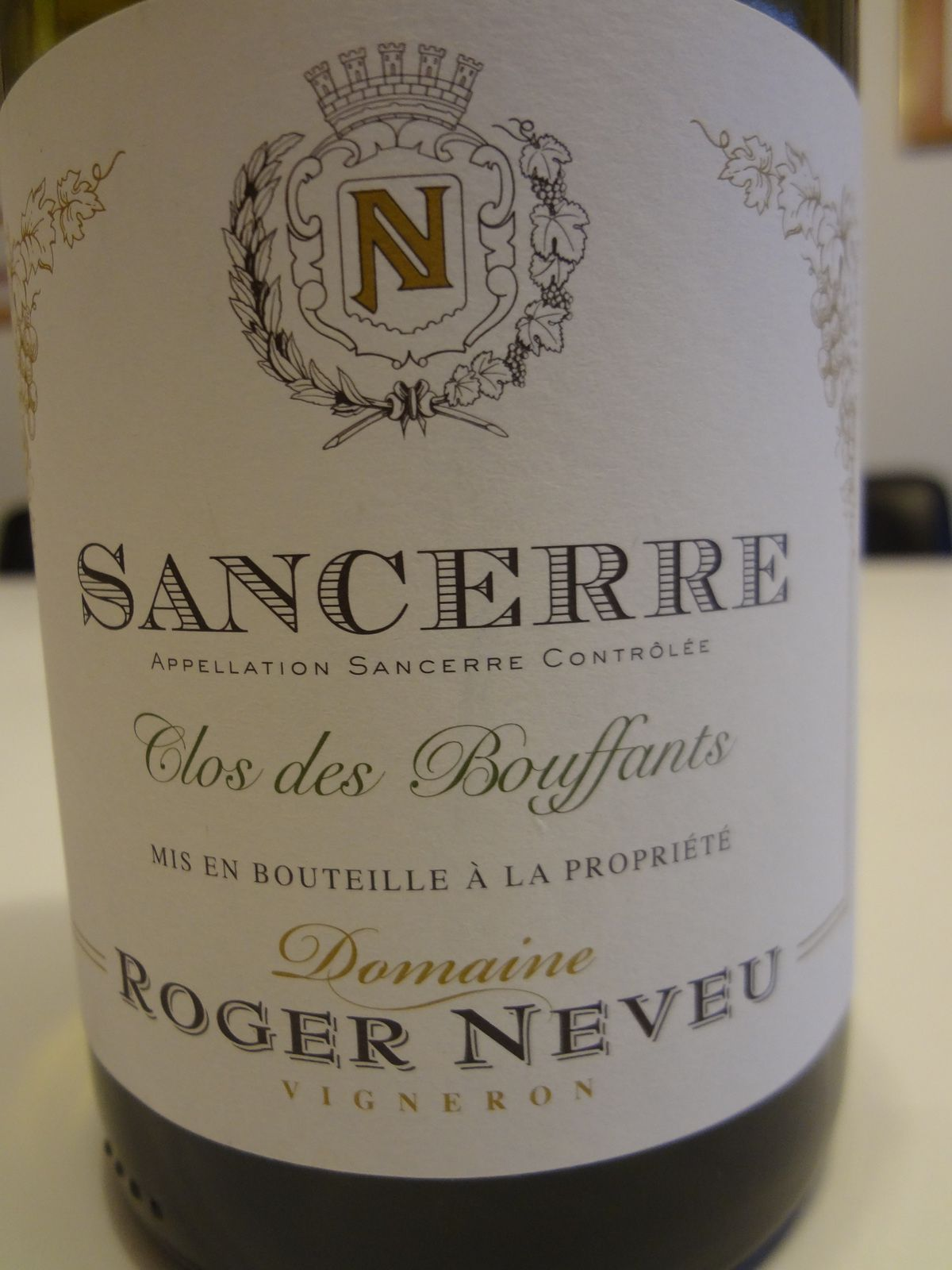 Vino Passion - Sancerre  Domaine Roger  Neveu