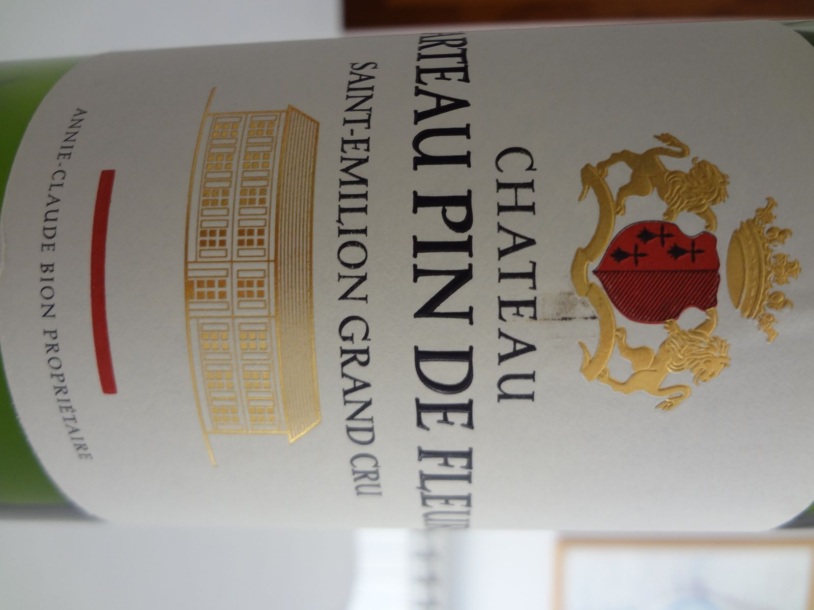 Vino Passion - St Emilion Grand Cru 2012