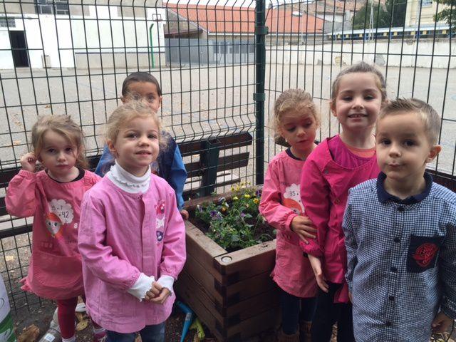 Atelier jardinage 2015/2016