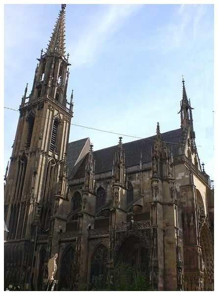 Collégiale Saint Thiebaut de Thann.