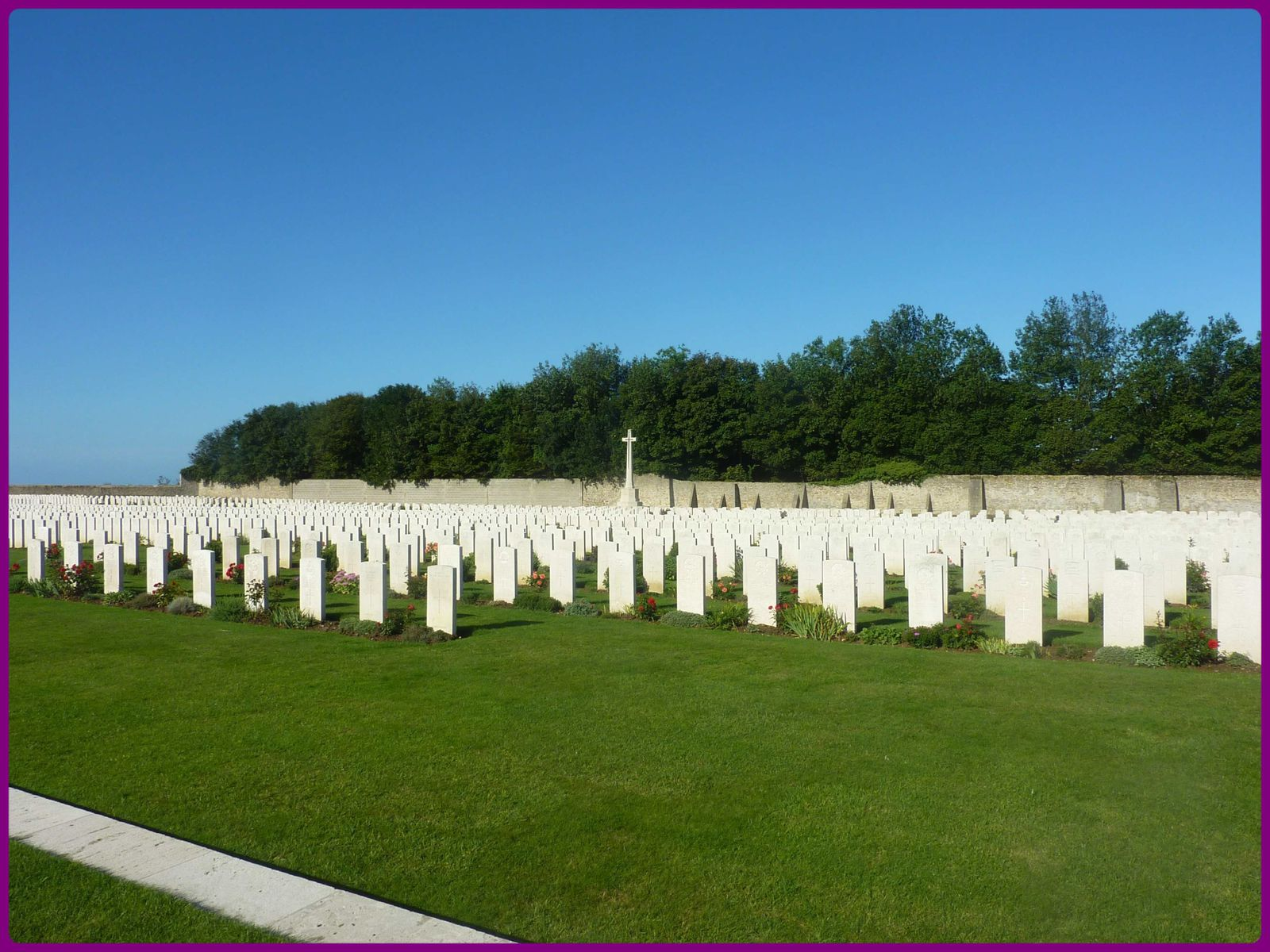 Le Terlincthun British Cemetery.
