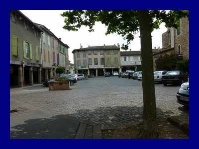Bastide de Réalmont.