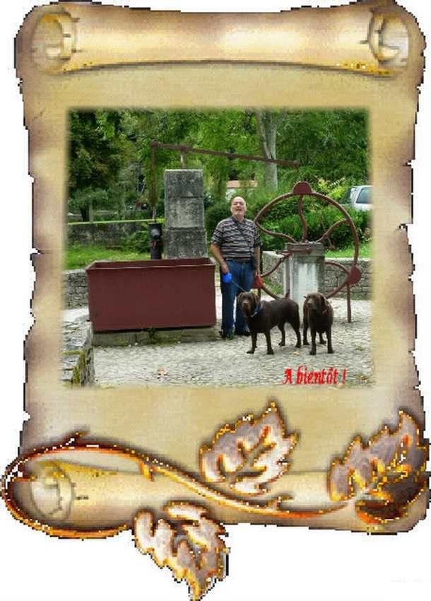 2 jolis puits de Dordogne.