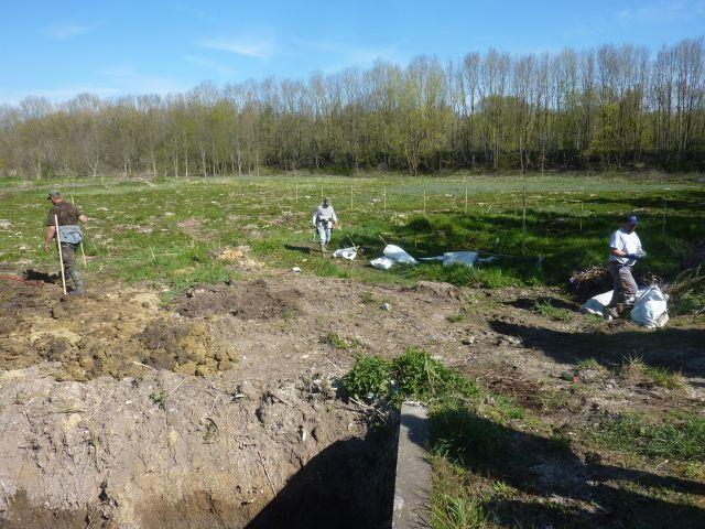 Avril 10 : Nouvelles plantations à la Favorite